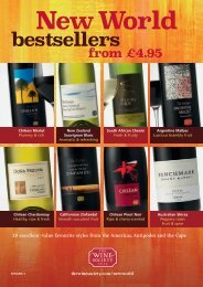 bestsellers - The Wine Society