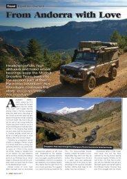 Pyrenees Snowline Tour 2010 LRW Part 2 - Mudrut