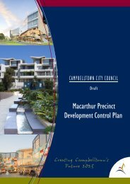 Macarthur Precinct Development Control Plan - Campbelltown City ...
