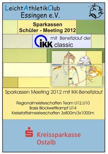 Sparkasse 2012 vorn.cdr - Leichtathletikkreis Ulm/Alb-Donau