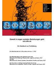 Gewalt Handbuch 2. Auflage - Landesarbeitsgemeinschaft anderes ...