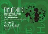 Einladung, pdf-download - Margit Niederhuber