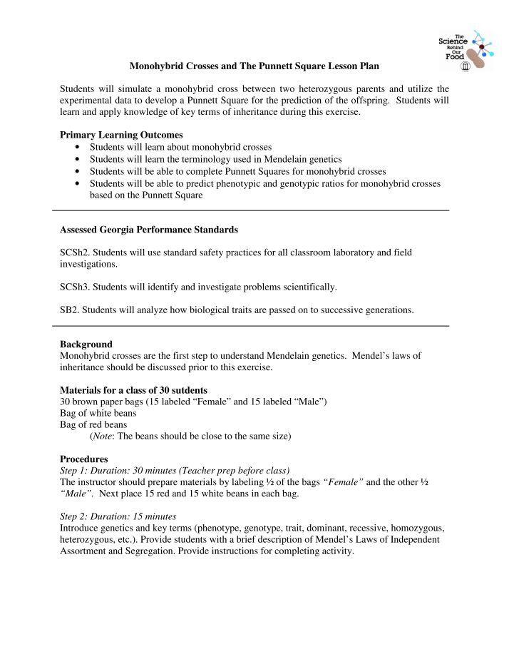 Monohybrid Cross Worksheet Answer Key justsingit – Dihybrid Cross Worksheet Key