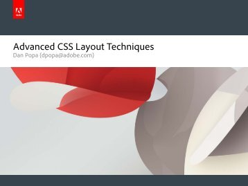 Advanced CSS Layout Techniques