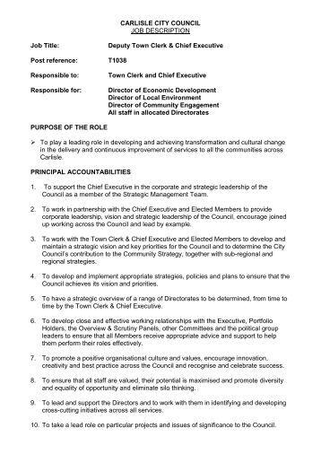 Job description chief program officer cpo pccyfs - Job description for chief executive officer ...