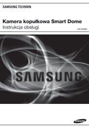 Kamera kopułkowa Smart Dome - Samsung CCTV