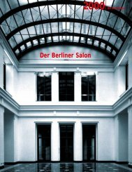 Der Berliner Salon - WordPress – www.wordpress.com