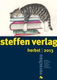 vorschau herbst 2013 - Steffen Verlag