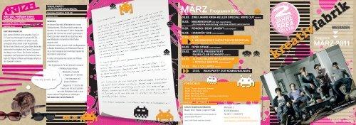 März 2011 - Kreativfabrik Wiesbaden
