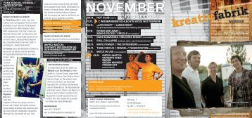 November 2010 - Kreativfabrik Wiesbaden