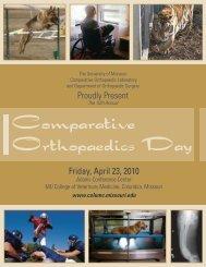 Comparative Orthopaedics Day - University of Missouri - College of ...