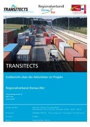 Regionalverband Donau-Iller - Alpine Space Programme