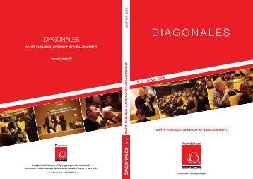 diagonales - Fondation Caisses d'Epargne pour la solidarité