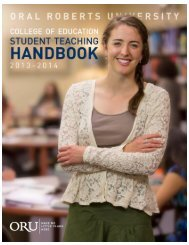 Student Teaching Handbook - Oral Roberts University