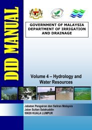 Volume 4 – Hydrology and Water Resources - Malaysia Geoportal