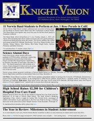 December 2012 - Norwin School District