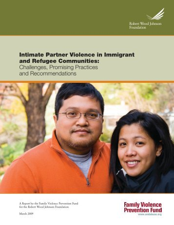 Intimate Partner Violence in Immigrant and Refugee Communities ...
