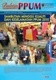 PPUM/Edisi: 3/2010 Ogos - Login Portal PPUM - UMMC