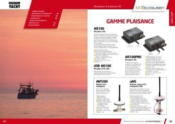GAMME PLAISANCE - MC Technologies