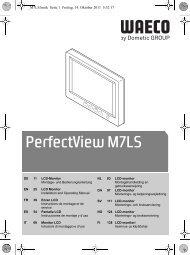 PerfectView M7LS - Waeco