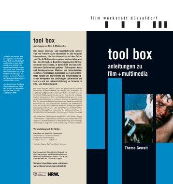 tool box - Filmwerkstatt Düsseldorf