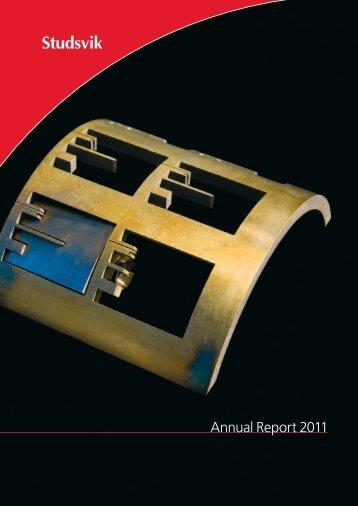 Annual Report 2011 1.79 MB - Investor Relations - Studsvik