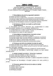 TEMELE – CADRU - Hepato-gastro-fundeni.ro
