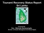 Tsunami Recovery Report Sri Lanka - International Recovery Platform