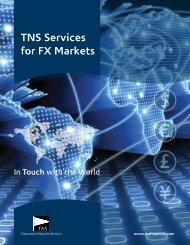 TNS Services for FX Markets