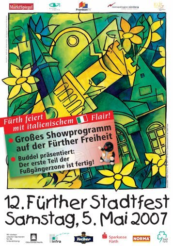 12. Fürther Stadtfest - 1000 Jahre Fürth