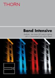 Band Intensive - THORN Lighting
