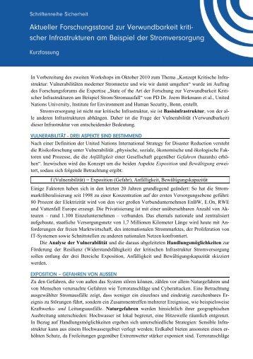 pdf_kf - Forschungsforum Öffentliche Sicherheit