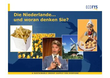 Bioenergie in den Niederlanden