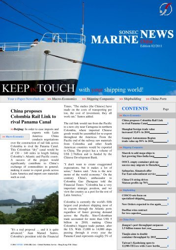MNC - February 2011 - Marine News China