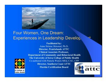Presentation PDF - Women, Children and Families