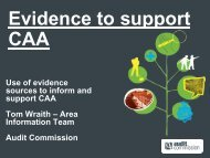 Evidence to support CAA - Keep Britain Tidy
