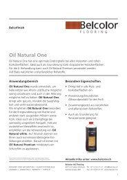 Oil Natural One - Rent-a-Shop