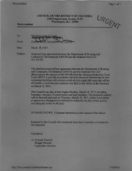 Memorandum Page 1 of 1 - Legislative Information Management ...