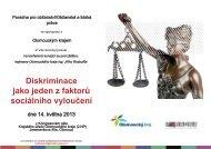 strate š uslu žbi - Poradna pro občanství, občanská a lidská práva