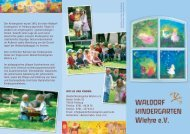 Der Kindergarten wurde 1961 als erster Waldorf- kindergarten in ...