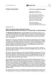 SBK Alzheimer Forum Angehörige - Sozial-Betriebe-Köln