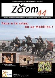 Télécharger ici en pdf, le ZOOM 44 n° 153. - Le blog de la ...