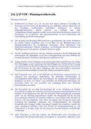 216. § 25 VOF - Planungswettbewerbe - Oeffentliche Auftraege