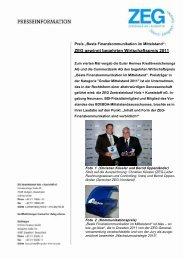 Pressemitteilung vom 20.10.2011 - ZEG Zentraleinkauf Holz und ...