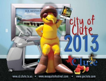 Link to 2013 City of Clute Calendar - loaded with information about ...