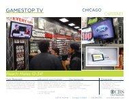 GAMESTOP TV - CBS Outdoor