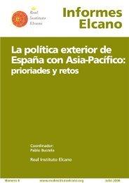 La política exterior de España con Asia-Pacífico: prioridades y retos