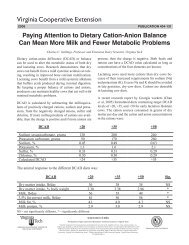 Paying Attention to Dietary Cation-Anion Balance Can ... - Foragelab