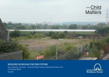 Final Planning Brief, May 2009 - Waltham Forest Council