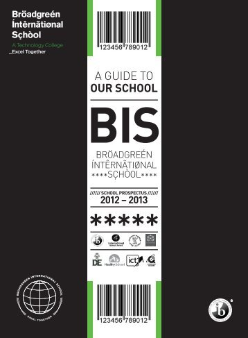 Prospectus - Broadgreen International School